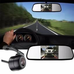 """Espelho retrovisor 4.3"""" ajuda na prevenção de acidentes durante a condução no sentido inve"""