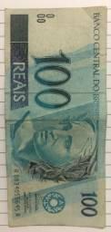 Cédula de 100 reais antiga