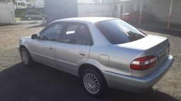 Raridade: Corolla XEI 2002, câmbio manual, multimídia com TV, baixa Km, segundo dono - 2002