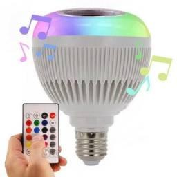 Lampada Que toca Musica via bluetooth ( Entrega grátis) Loja cohab