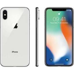 Iphone apple x 64gb branco novo