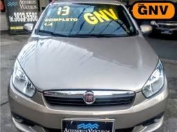Fiat -Grand Siena 1.4 - Completo+Banco de Couro - Flex/GNV - ( Excelente P UBer ) 2013 - 2013