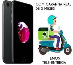 IPhone 7 32GB, Preto Matte , nota fiscal e Garantia