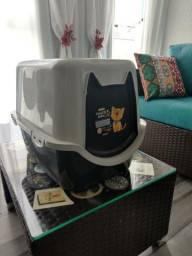Caixa higiênica para gatos