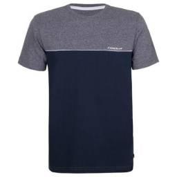 Camiseta Masc G Corolla Azul marinho/cinza