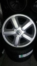 Rodas VW Gol GTI 16v aro 17 novas parcela até 24x no carnê e cheque