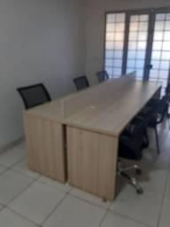 Mesa escritório para 6 pessoas