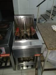 Vendo Fritadeira industrial 20L em inox [para restaurante e pizzaria]