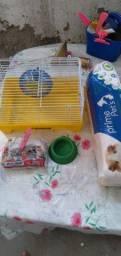 Kit completo para hamster