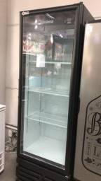 Cervejeira porta de vidro 454 litros *douglas