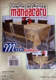 Toalha de mesa em renda