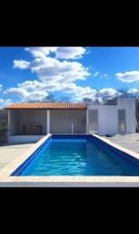 Chácara à venda com 1,9 hectare + área gourmet, e piscina com 9 metros
