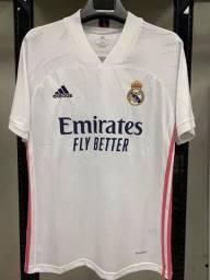 Camisa Real Madrid I 20/21 - Adidas