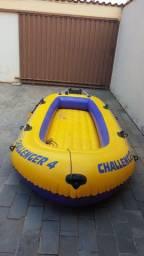 Bote barco inflável Challenger 4 Intex. Venda ou troca.