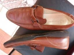 Sapato masculino número 40 couro