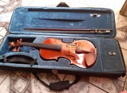 Violino Eagle 4/4 Caramelo com estojo completo