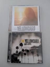2 cds Yellowcard por 40,00.