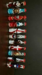 Mini garrafinhas da copa do mundo da fifa 2014