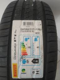 Pneu Pirelli Aro 18 Cinturato P1 Plus 235/45R18 98W XL - ZERO - 02 unidades