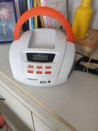 Aparelho de som Pen drive, rádio, USB Lenoxx