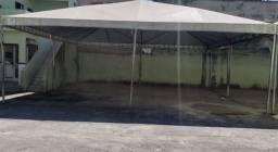 Vendo Tenda reforcada 10 x 10 100 m² + 1 fechamento lateral e elevador 10x10