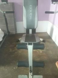 Estação de musculação  completa...