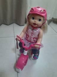 Boneca Little Mommy Primeiro Passeio