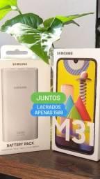 Galaxy M31 128/6 Ram(Novo lacrado e bateria externa)NF e garantia 1ano