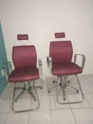 Título do anúncio: Cadeiras para salão de beleza