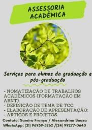 Assessoria Acadêmica Instituto Folha Verde