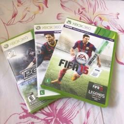 3 jogos Xbox360 novos.