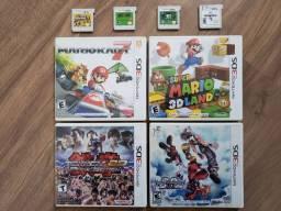 Jogos Nintendo 3DS (leia descrição)