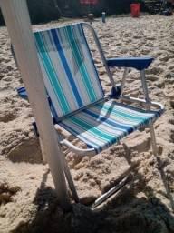 Cadeira de praia infantil mor