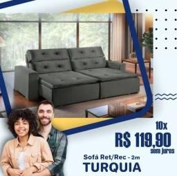 Título do anúncio: Sofa Retrátil turquia na promoçao - 200m de largura