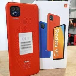Xiaomi Redmi 9c 64gb NOVO LACRADO - ACEITO SEU CELULAR USADO DE ENTRADA