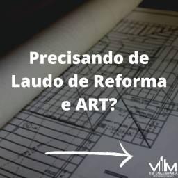 Laudo de Reforma + ART - Engenheiro Civil