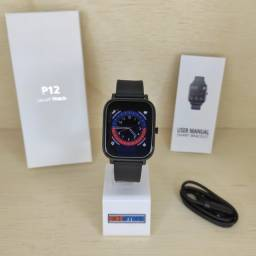 Colmi P12 Faz Ligação Toca Música e Conecta com Fone Relógio Smartwatch Novo Original