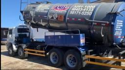 Título do anúncio: Caminhão Limpa Fossa E Hidrojato De 16 000 Litros