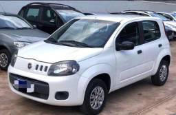 Fiat uno 2015 branco no precinho!!