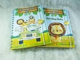 Cartão SUS e caderneta de vacina personalizados.