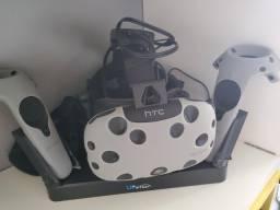 Oculos Vr Htc Vive + Deluxe Audio Strap + Tp Cast Wireless