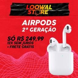 Airpods 2ª geração 12x s/ juros