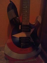 Guitarra PHX Marvel com Amplificador e Pedaleira
