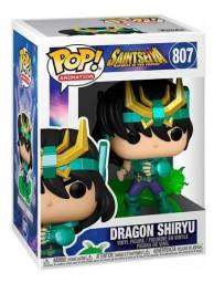 Funko Pop Saint Seiya Cavaleiros Do Zodiaco Dragon Shiryu 807
