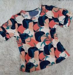 Camisa Gola Rendonda