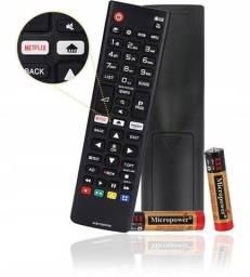 Título do anúncio: Controle Remoto Tv Lg Webos Netflix Amazon