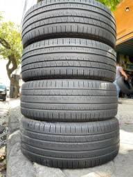 Título do anúncio: 4 Pneus 225/55 R18 Pirelli Scorpion Verde Em excelente estado aceito cartão