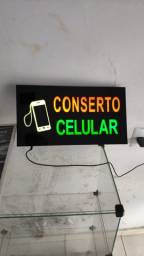 Placa painel led conserto de celular