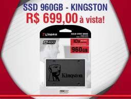 Disco Sólido Interno Kingston Sa400s37/960g 960gb