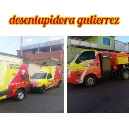 Desentupidora Gutierrez plantão 24 hrs